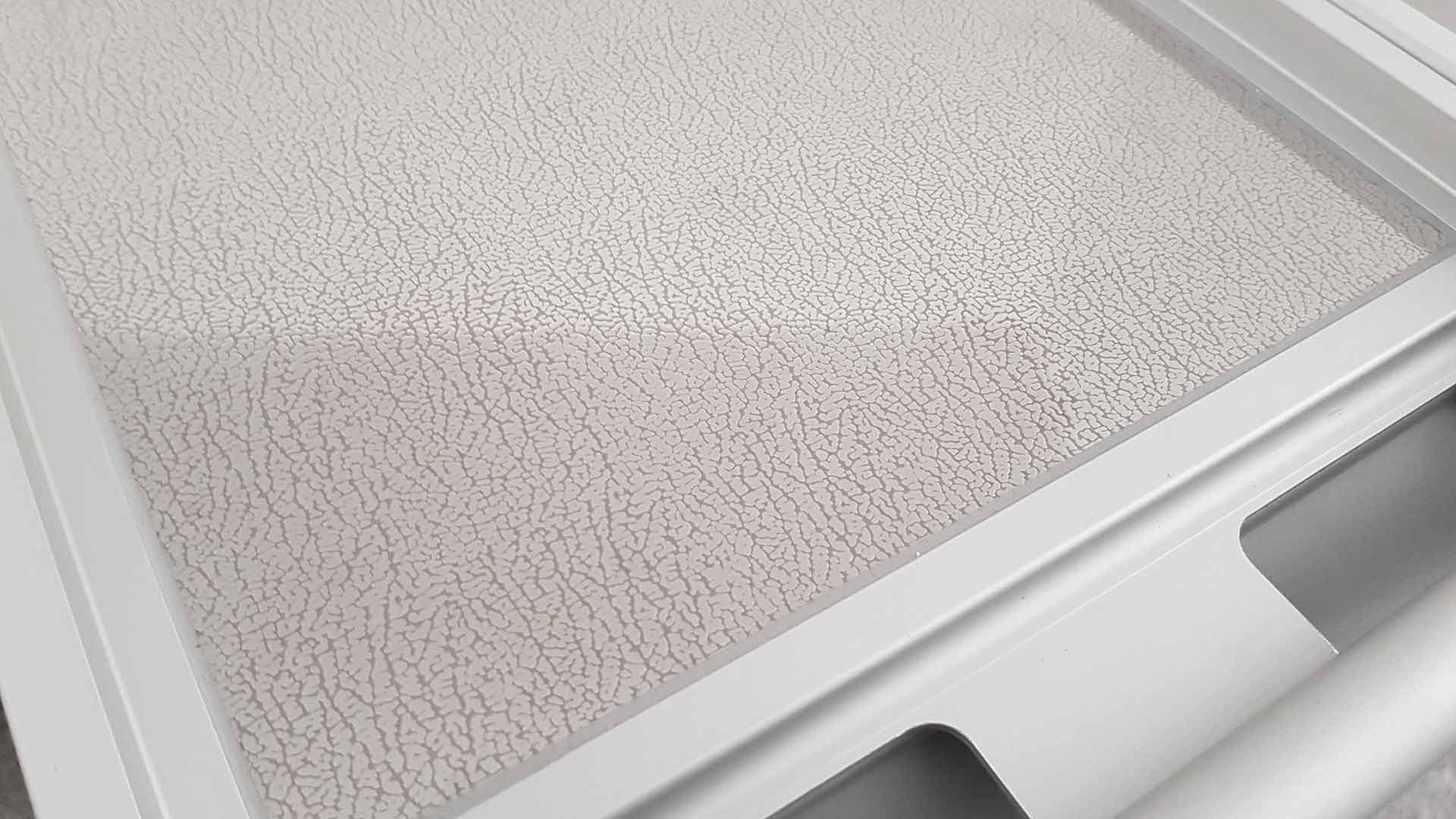 flugzeugtrolley neu weiss grauer griff. Black Bedroom Furniture Sets. Home Design Ideas