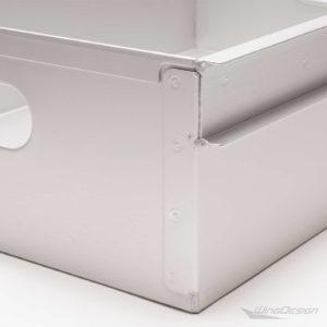 Aluminiumeinschub für Flugzeugtrolley neu - Detailsaufnahme