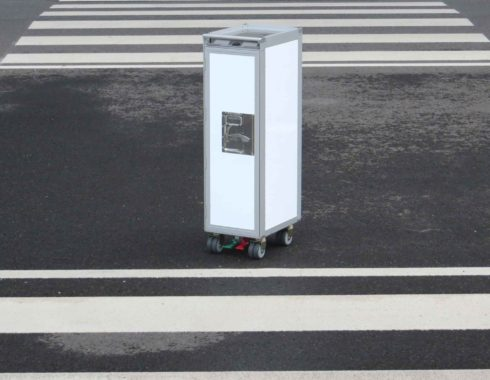 Airlinetrolley Flugzeugtrolley Runway