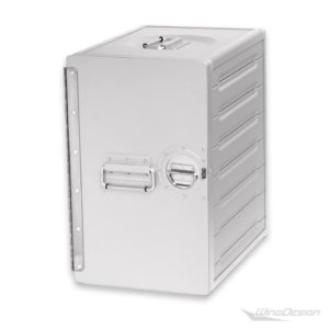 flugzeugtrolley alu box silber gr L - Standard-Unit