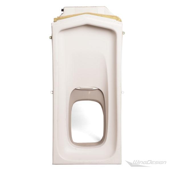 Flugzeugfenster Einzel Element offen