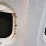 Doppel Flugzeugfenster Element
