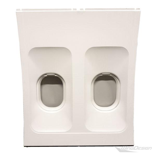 Original Doppel flugzeugfenster element
