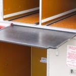 Original Flugzeug Bordküche halbrund