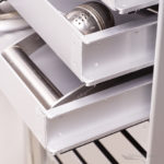 Flugzeugtrolley Aluminiumeinschub flach Anwendungsbeispiel