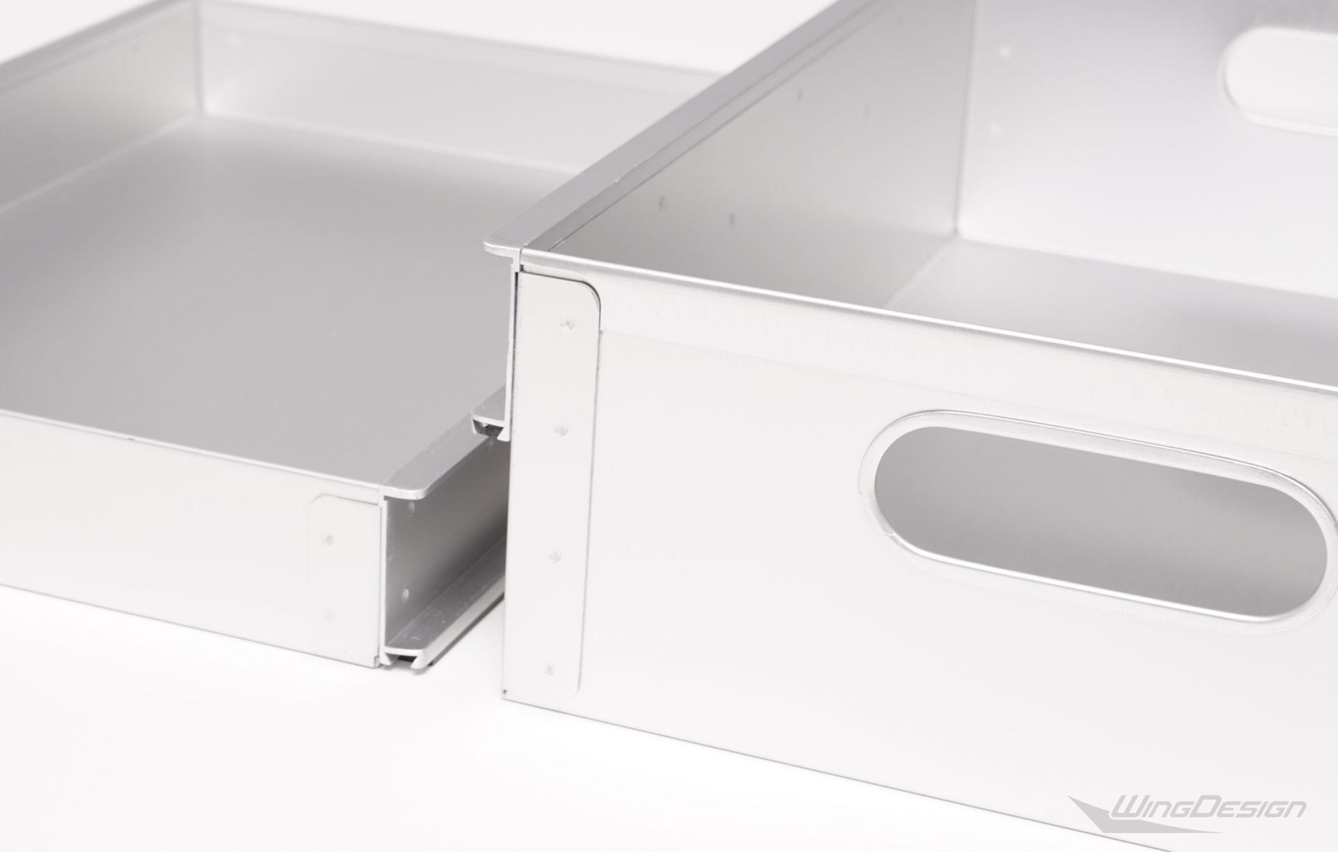 Flugzeugtrolley neu Aluminium Zubehoer