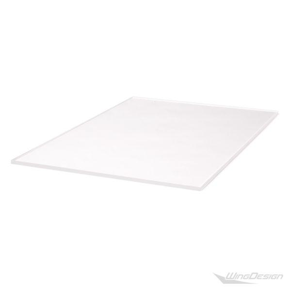 Flugzeugtrolley Glasboden Einlegeboden aus Acryl