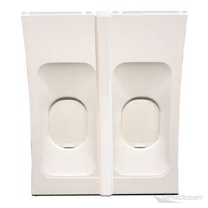 Doppel-flugzeugfenster-element-Balken-geschlossen-wingdesign
