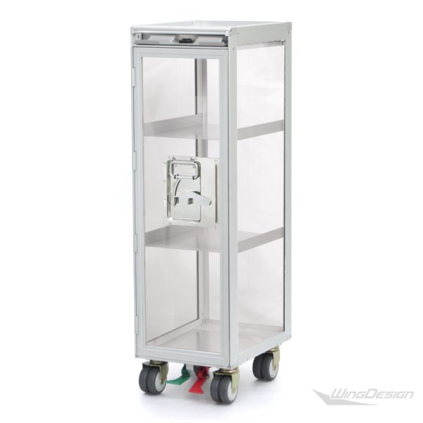 flugzeugtrolley Vitrine Transparent-