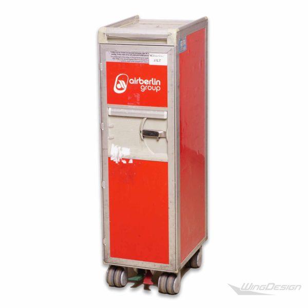 airberlin flugzeugtrolley original rot gebraucht