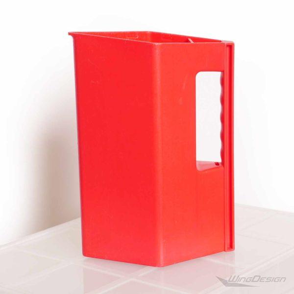 airberlin Kunststoff-Kanne, rot