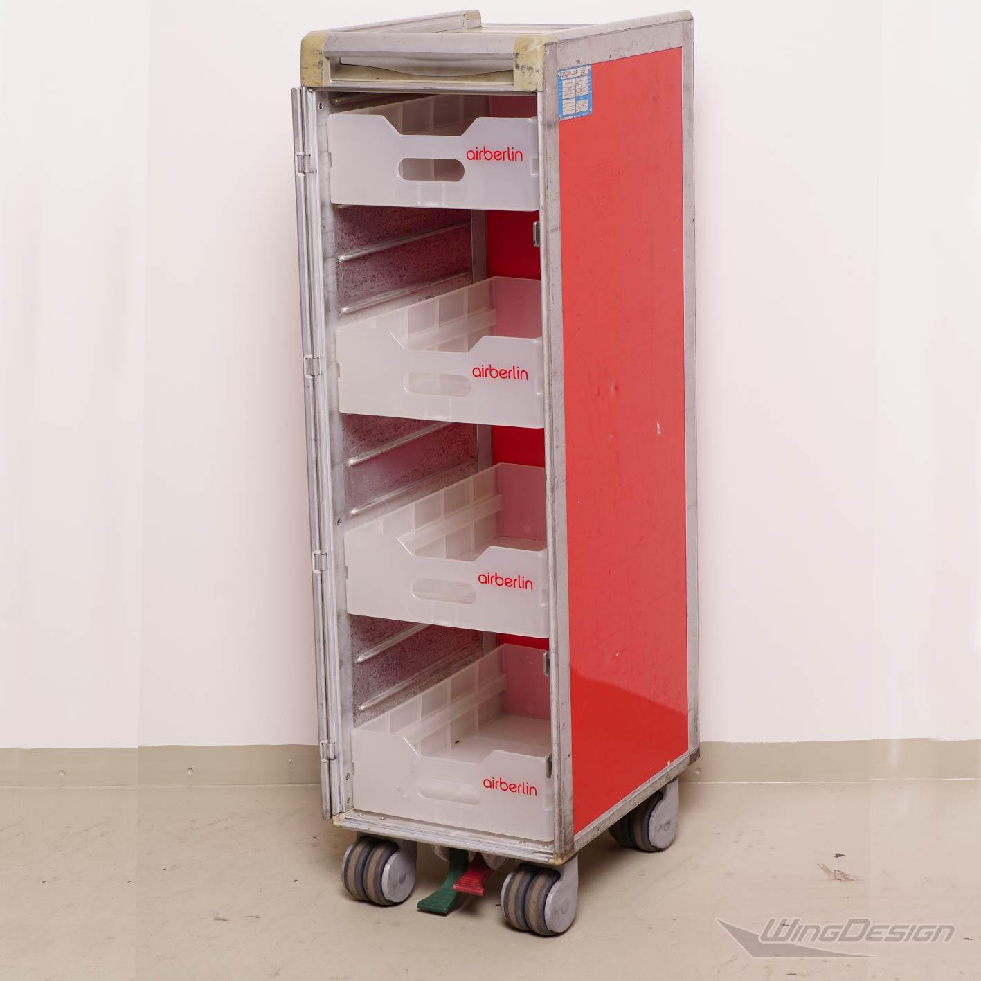 airberlin flugzeugtrolley kunststoff einschub gebraucht. Black Bedroom Furniture Sets. Home Design Ideas