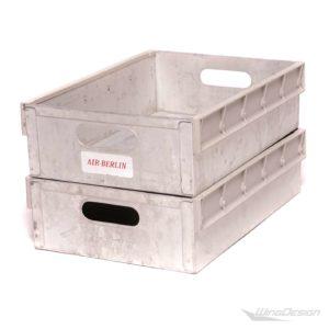 airberlin-Aluminium einschub-gebraucht 2 Stück