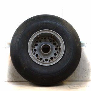Original Flugzeugrad Rueckseite