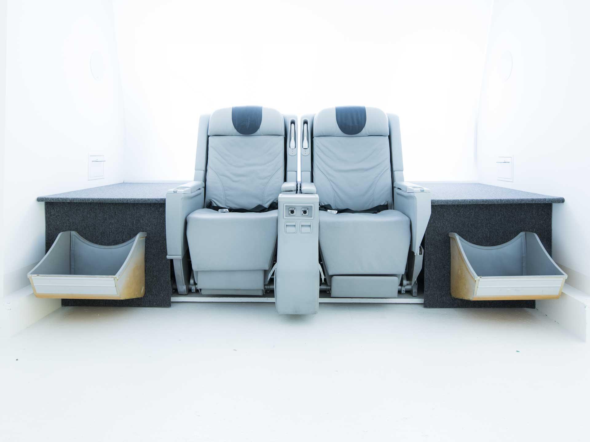 Original Flugzeugsitze Aircraftseats