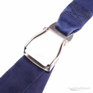 Flugzeuggurt Seatbelt Gürtel blau Schnalle
