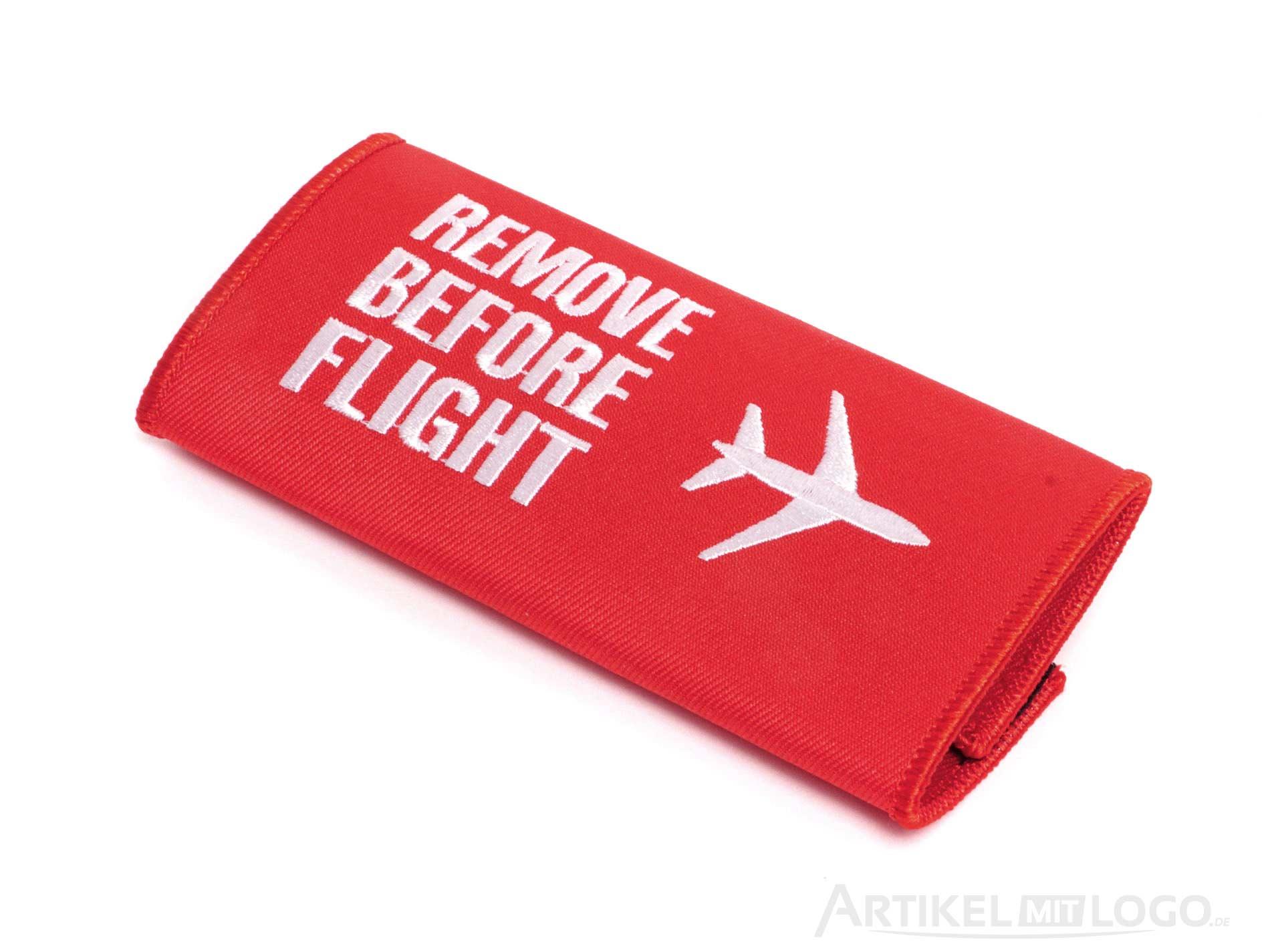 Remove Before Flight Klettband