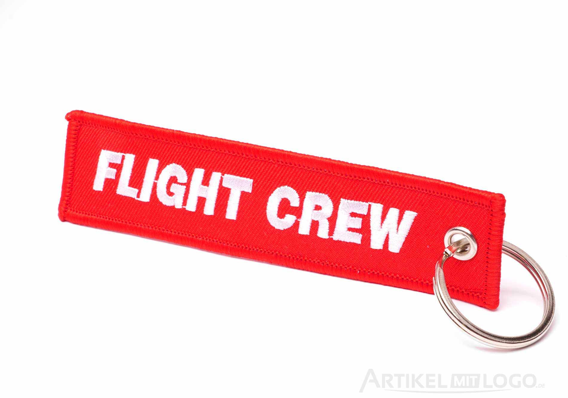 Flight Crew Schluesselanhaenger rot weiss