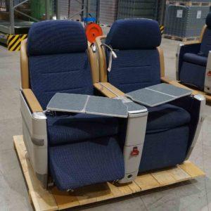 B-Ware Flugzeug-Doppelsitzbank Contour 421