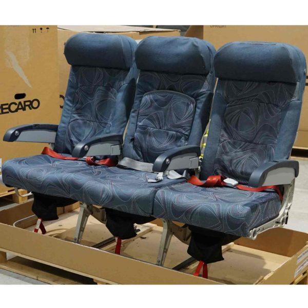 B-Ware Flugzeug-Doppelsitzbank Spectrum Seat 289