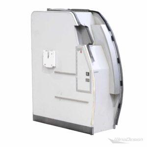 Turkish Airlines Stowage-Compartment Rueckansicht