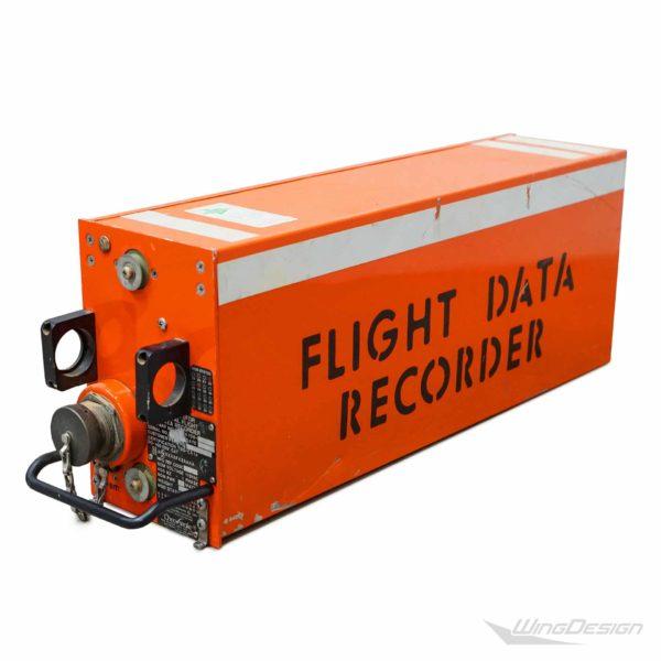 Flugzeugteile Flugdatenschreiber Black Box Ansicht