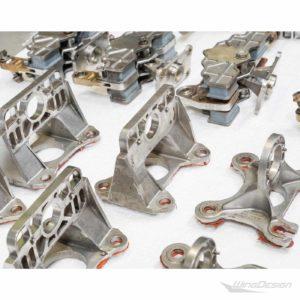 Flugzeugteile Set aus gebrauchten Kleinteilen - Detail